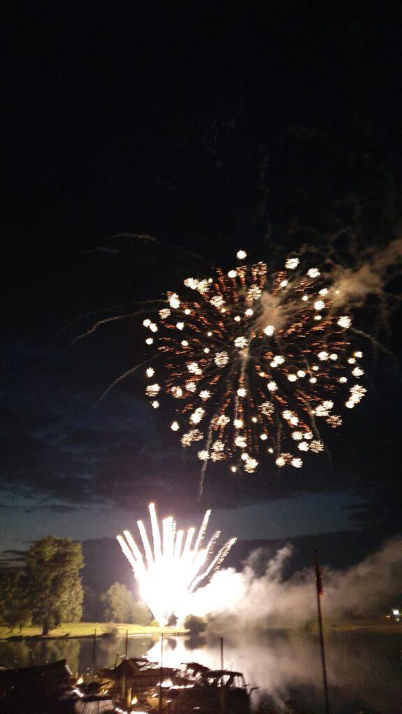 Hochzeitsfeuerwerk von BS-Pyrotechnik