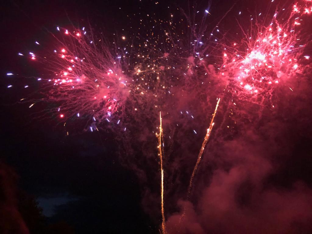 Ein Musikbegleitetes Feuerwerk durch Benjamin Stolten