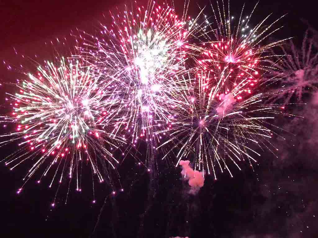 Feuerwerke für Veranstaltungen mit BS-Pyrotechnik