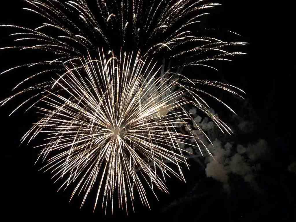 Veranstaltungen mit einem Feuerwerk von BS-Pyrotechnik